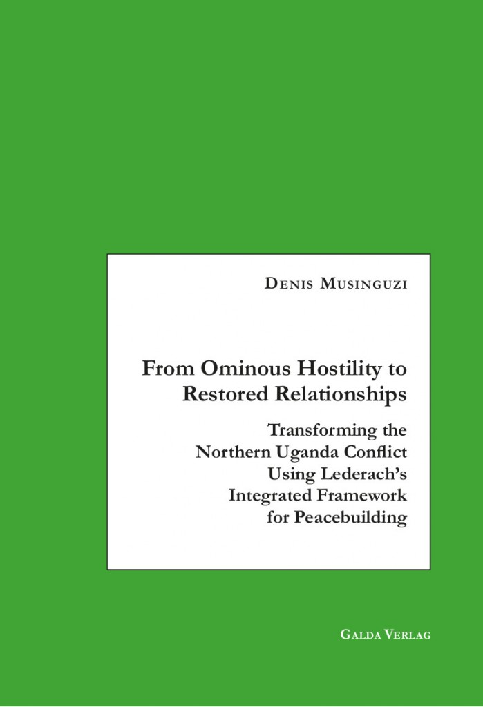 From Ominous Hostility to Restored Relationships (PDF)