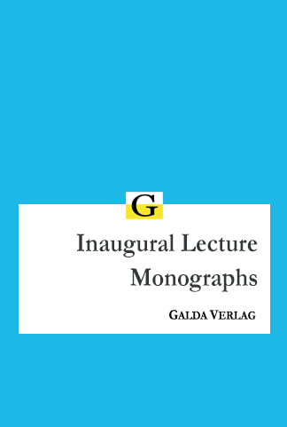 Inaugural Lecture Monographs