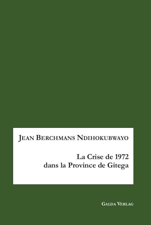 La crise de 1972 en province de Gitega