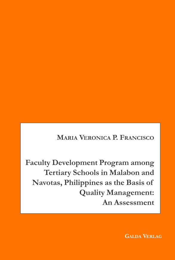 Faculty Development Program among Tertiary Schools in Malabon and Navotas, Philippines as the Basic of Quality Management: An Assessment (PDF)