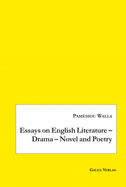essays on english literature  drama  novel and poetry