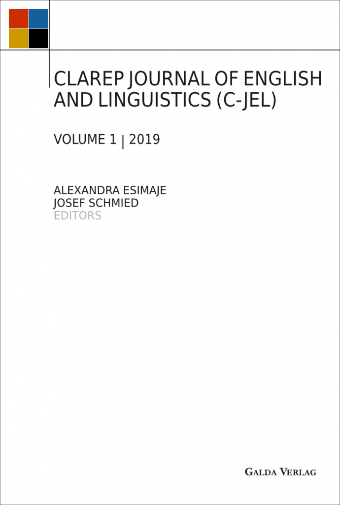 CLAREP Journal of English and Linguistics (C-JEL)
