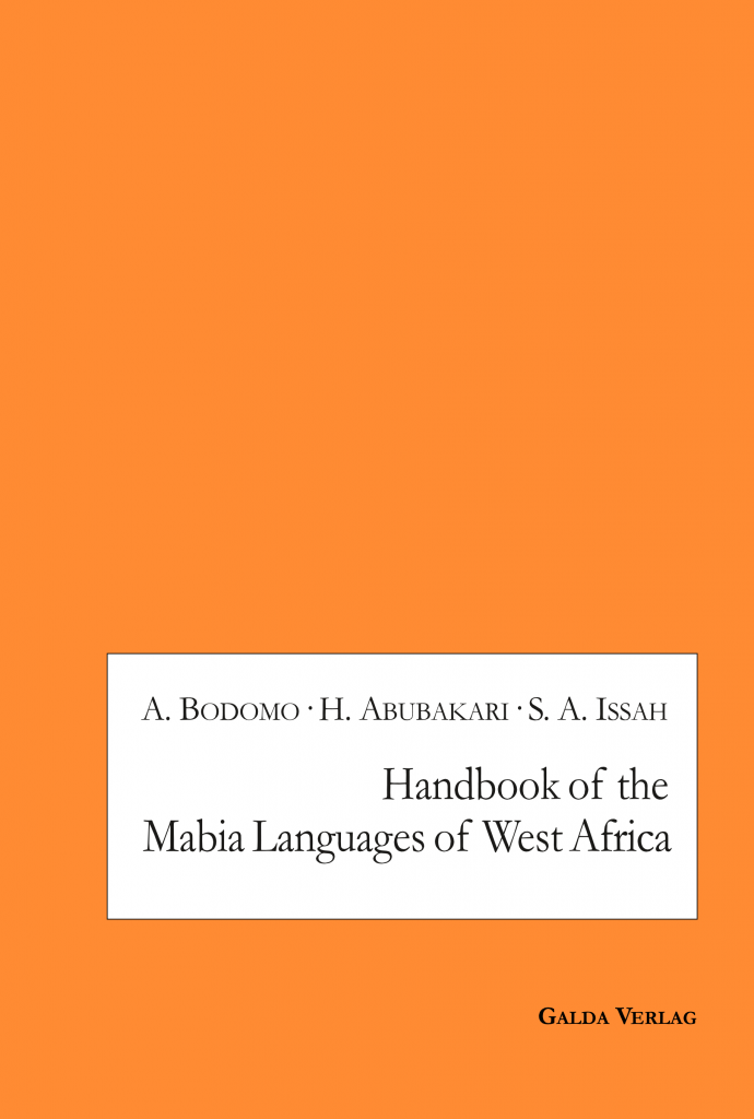 Handbook of the Mabia Languages of West Africa